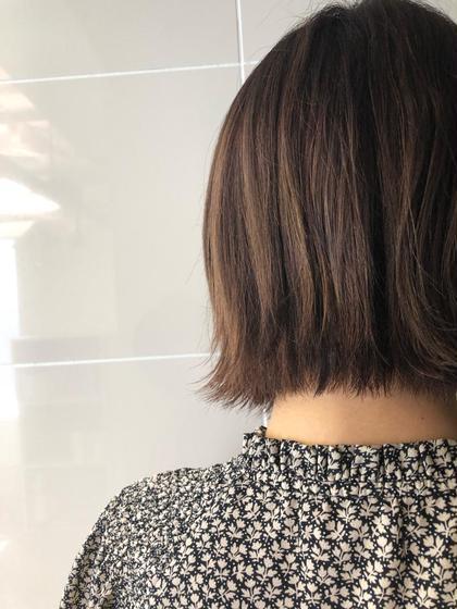 🧡髪の毛サラツヤ🧡カット➕aujuaクイックトリートメント➕極上ヘッドスパ
