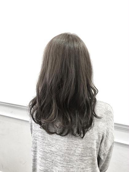 お洒落な外国人風カラー☆薬剤を3種類使い分けて作る普通の透明感カラーと違うカラーになります♪今の髪質に合わせて染めます! NEEL【ニール】所属・ディレクター松田 陽平のスタイル