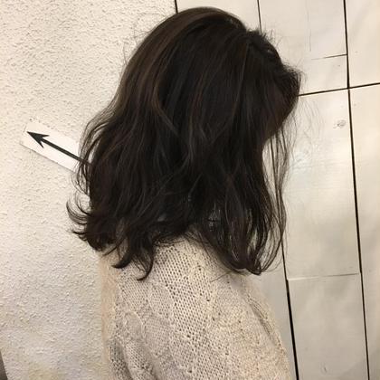 透明感のある暗髪 magico所属・辻未侑のスタイル