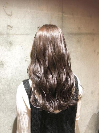 カット & カラー & 髪質改善トリートメント
