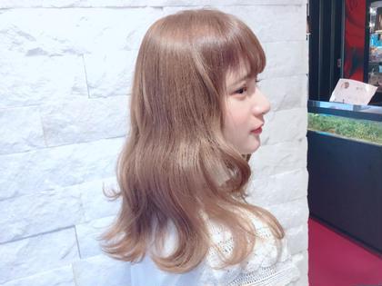 カラー ダブルカラー☆彡ベージュブラウン(*゚▽゚)ノ