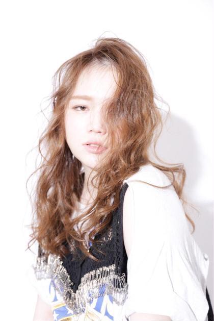 透明感が柔らかいシアカラー HIKARIS  hair所属・ハマダハルカのスタイル