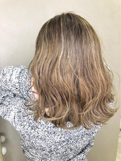 《カラー+髪質改善トリートメント》