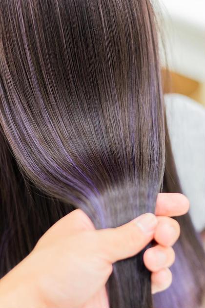 ハイライトカラー+髪質改善トリートメント