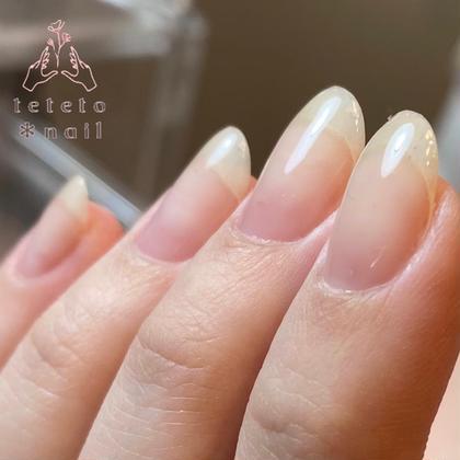 4月末で終了【通常価格の半額❗️2回分お得なコース】1回¥2,500👏🏻爪に色が塗れない方・爪補強にクリアジェル✨