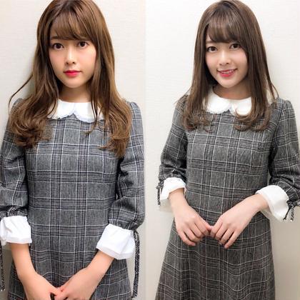 カラー セミロング 白石麻衣ちゃんに似ている事有名なまゆちゃんご来店✨✨