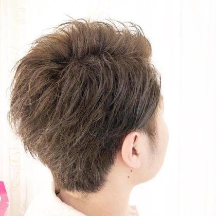 黒髪からのカラー✨ ブルーグリーンでくすませカラー😎