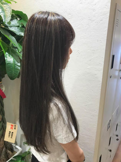 【✂️ご新規様限定✨】似合わせカット+全体ケア縮毛矯正(シャンプースタイリング付)
