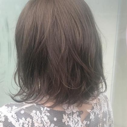 ミディアム ash beige! 透明感とやわらかさがかわいいです!!