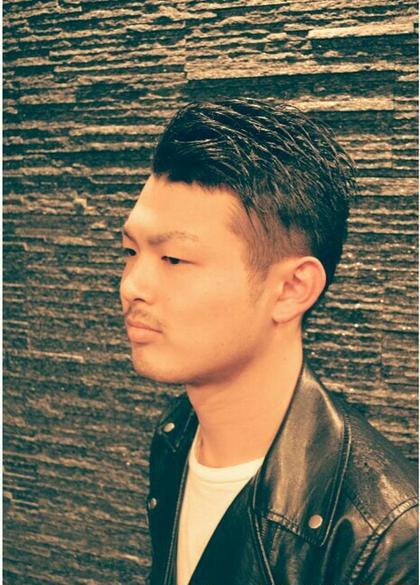 ツーブロ7:3スタイル hiroginza田町店所属・岩間佳祐副店長のスタイル