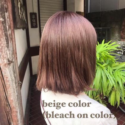 【人気No.3‼️】レングス調整or毛量調整cut+デザインカラー