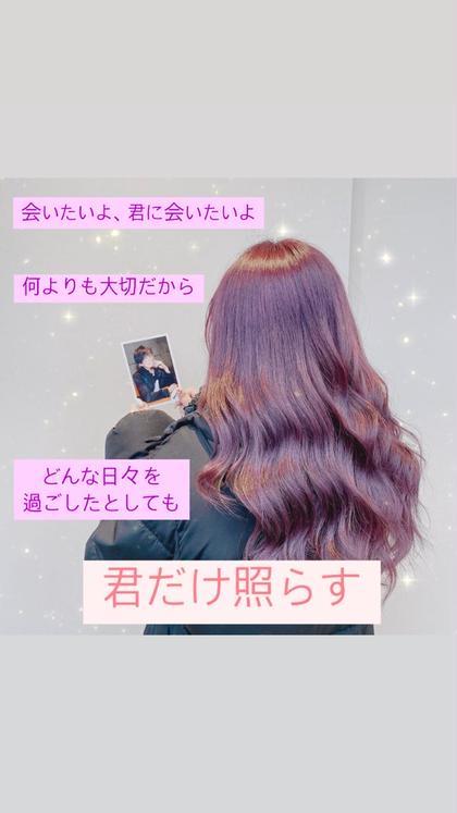 ❣️ジャニヲタ様限定❣️前髪カット+ダメージレスWカラー+栄養コラーゲンTR+スチームTR❣️