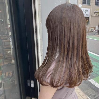 【8月限定】🌿透明感カラー+2stepトリートメント(ホームケア付き)🌿