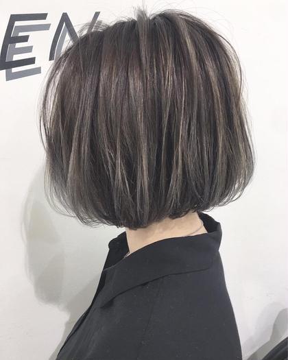 🌹オススメメニュー🌹髪に透明感を出します⭐️シークレットハイライトカラー+コラーゲンヘアカラー+シルクトリートメント