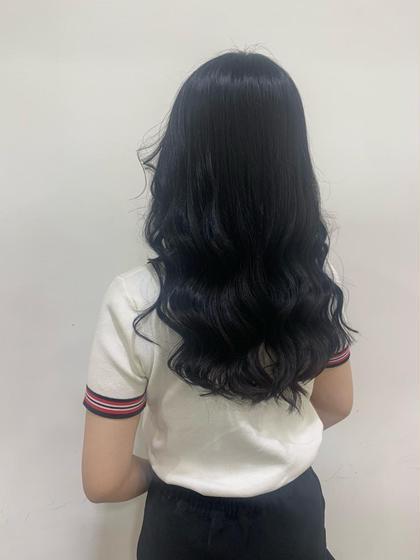 🌥 リクルートカラー + 髪質改善トリートメント 🌥 ツヤのある潤い黒髪は無敵🌟