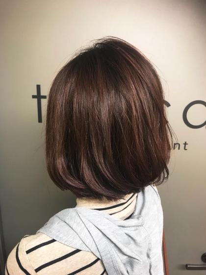 カラー ショート bob / red brown✂︎ バッサリスタイルチェンジ