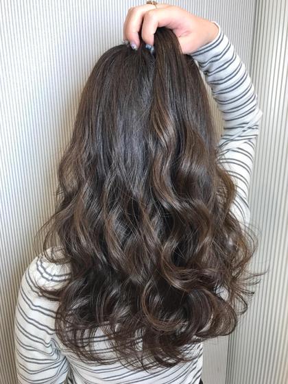 💝ポイント3Dハイライトカラー💖➕前髪カット➕ケアトリートメント