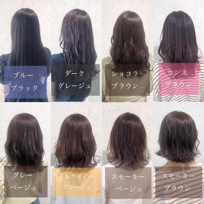 ❤️minimo限定❤️似合わせカット.透明感ツヤカラー.艶髪トリートメント