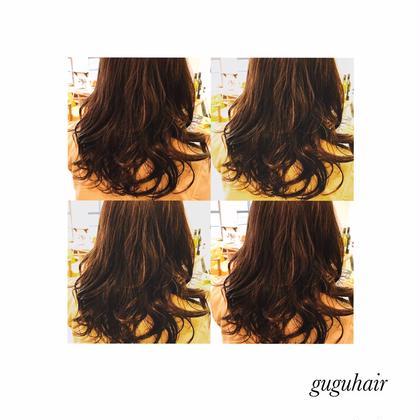 デジタルパーマ gu gu hair所属・gu gu hairMATSUのスタイル