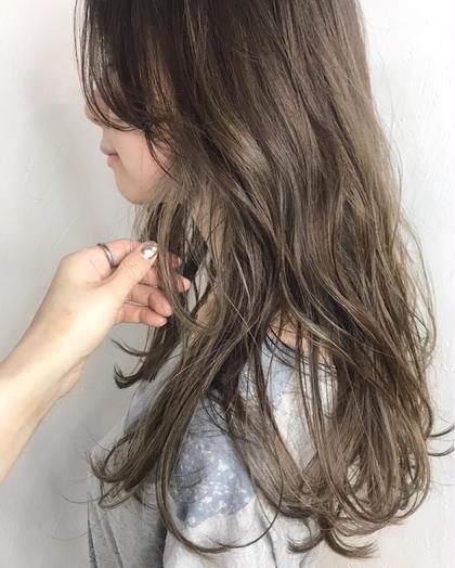rodge所属の熊谷七海のヘアカタログ