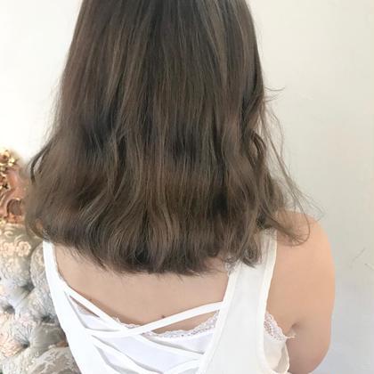 【話題急増】髪質改善トリートメント➕透明感ヘアカラー