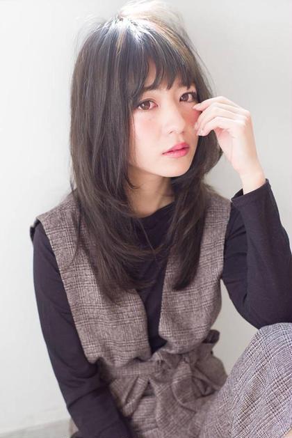 【ご新規様のみ】小顔前髪カット & ツヤ色モロッカンカラー