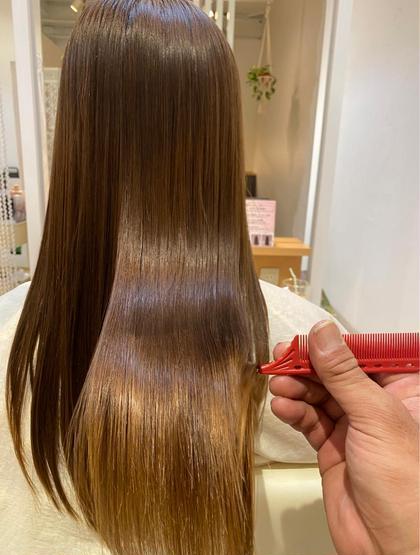 👑大人気メニュー👑髪質改善トリートメント+カラー✨髪が生まれ変わる感動体験🥺うねり、クセを抑え綺麗な美髪へ!