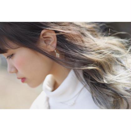 外国人風グラデーションカラー hair salon LISALISA所属・武田龍二のスタイル
