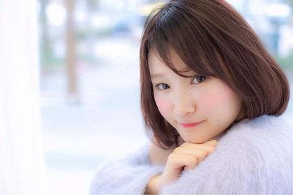 柔らかショートボブ☆ ガレリアエレガンテ可児店所属・代表✖︎毛髪診断士水野靖己のスタイル