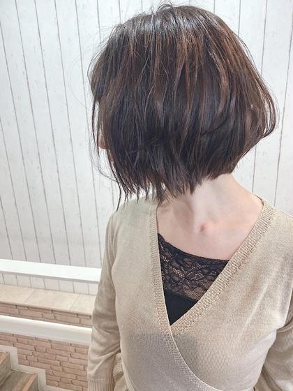 【🌺✨ショート女子必見✨🌺】カット&美髪カラー&ハホニコTr(1STEP)