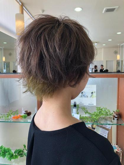 ICONIQ豊田店所属の牧野佳樹のヘアカタログ