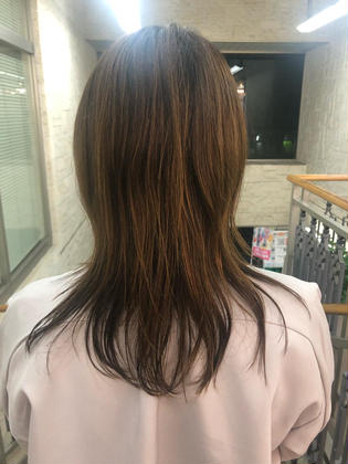 hairm.a.所属・黒岩彩香のスタイル