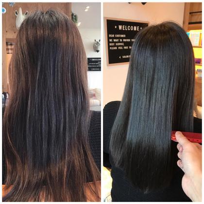 【髪の新常識!?カラーは根元のみが傷まないはウソ!?】【2000円相当のヘアケアプレゼント】髪質改善カラーエステ
