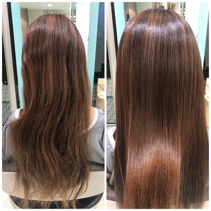 【髪質改善!保湿たっぷり艶髪GET✨】炭酸クレンジング+酸熱トリートメント