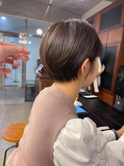 【🔸人気No.1🔸】似合わせカット➕透明感カラー➕クイックTR ショートヘアショートカットハンサムショートミニボブ