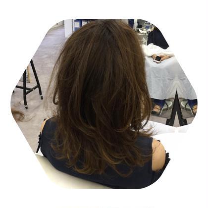 動かしたほうが髪の毛ってかわいいと思います! ありがとうございました\(^o^)/ カットモデル メンズもレディースも募集してます! ZA/ZA所属・森将馬のスタイル