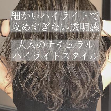 ✨超立体感✨3Dハイライトカラー(全頭ハイライト)&Aujuaトリートメント💖