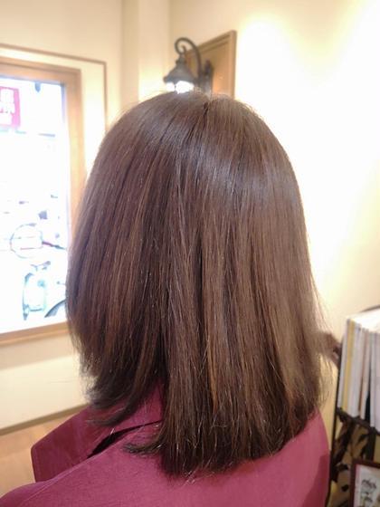 カラーコース ツヤのある髪に改善させていただきました