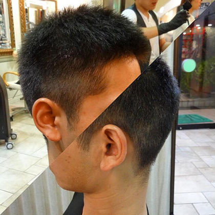Of HAIR所属・森貴章のスタイル