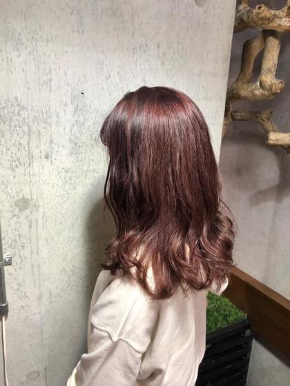 【人気No.2メニュー】カット & イルミナ艶カラー & 3STEPトリートメント