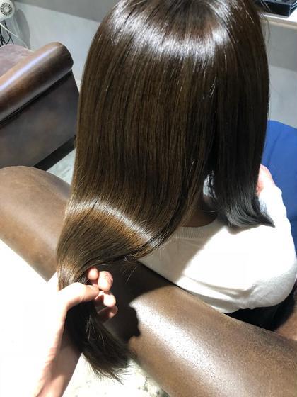 枝毛、パサつきにお悩みの方必見❗️選べる業界最強tr🌿✨  シャンプーブロー+髪質改善or TOKIOトリートメント