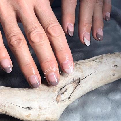 ネイル 短い爪でもフレンチならこんなに綺麗に見えます♡