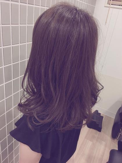 ミディアムスタイル U.Hair所属・仲光啓輔のスタイル