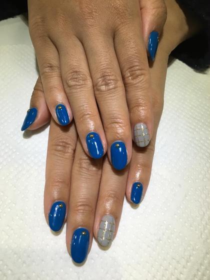 お客様nail♪シンプルアートコース nail所属・atelier-02のフォト