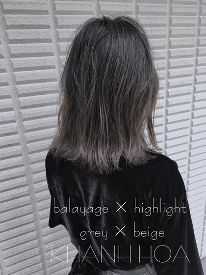 高江秀聡のヘアカラーカタログ