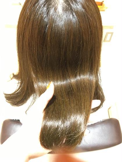 最強⭐️トリートメントしながら縮毛矯正⭐️カット & TOKIOdeSINKA縮毛矯正
