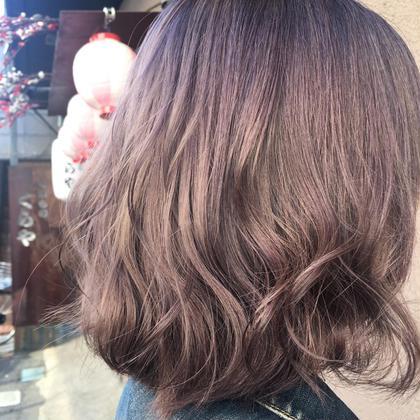 【髪質改善トリートメント付き!✨】イルミナカラーorアディクシーカラー+Aujua4stepトリートメント