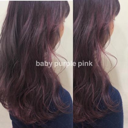 💜 イルミナカラー 💜 髪にも優しいツヤ感カラー✨