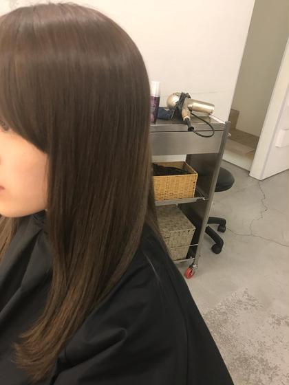 カラー、トリートメントで髪サラサラ綺麗!! Pacific Dazzle 神戸三宮所属・滝澤洸希のスタイル