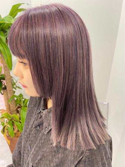 ✨大人気✨ツヤ出しフルカラー➕髪質改善トリートメント(酸熱トリートメント)➕ヘッドスパ💆♀️ 自分史上最高の髪へ💝